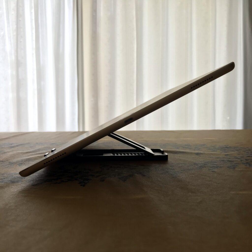 iPadランドスケープ寝かす