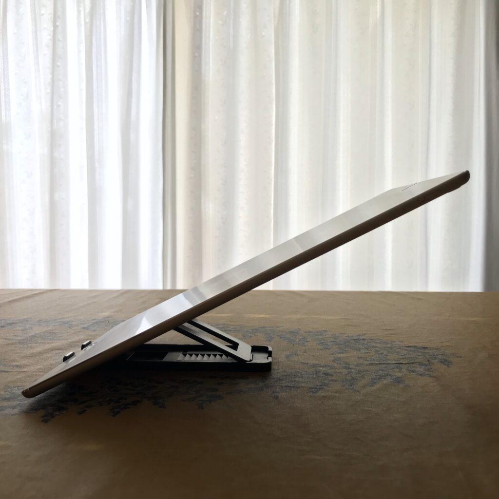 iPadポートレート寝かす